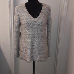 BB DAKOTA sequin V-neck sweater